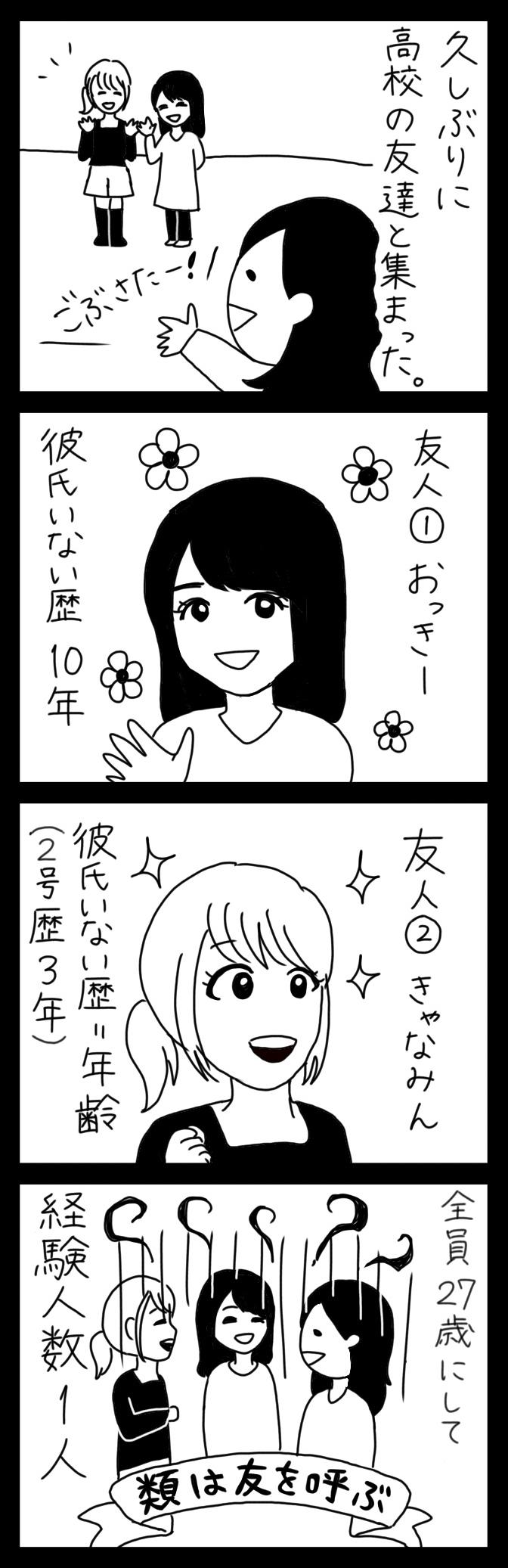 【4コマ漫画】第5回「ビクトリアな日々」作:ビクトリアブラディーヌ