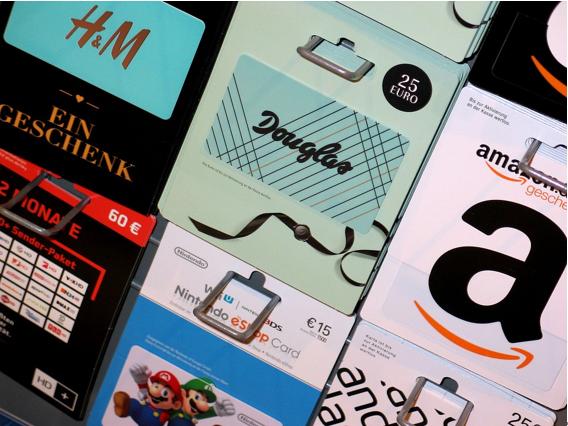 第2位 Amazonなどのギフトカード