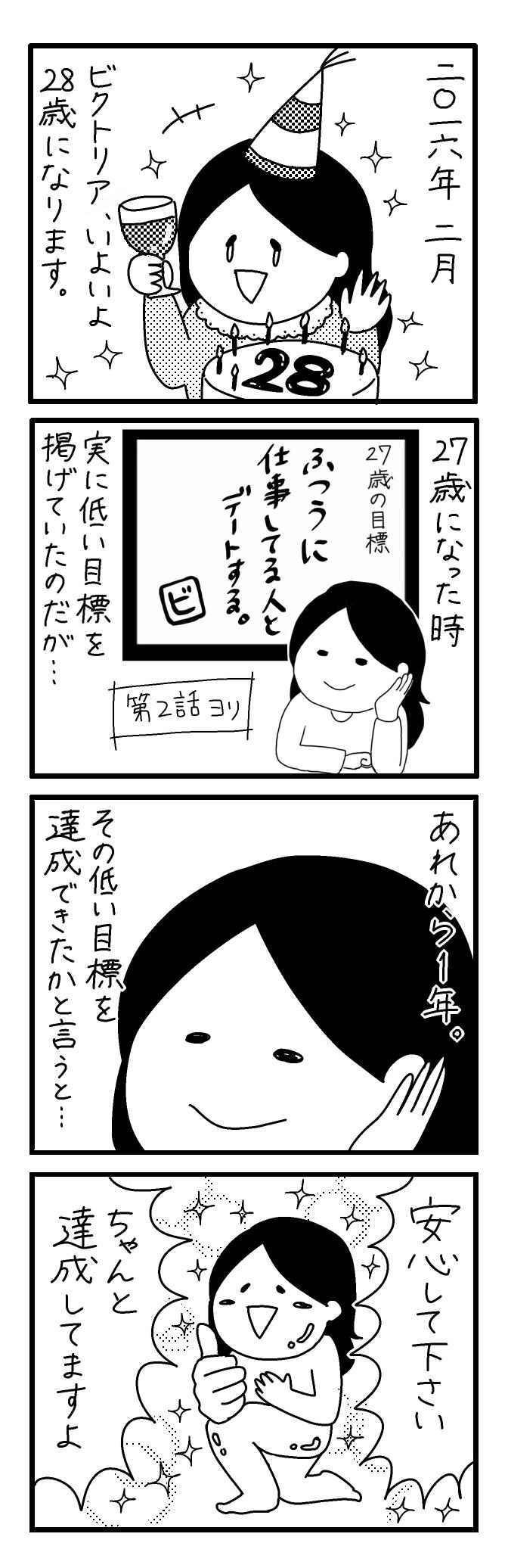 【4コマ漫画】第29回「ビクトリアな日々」作:ビクトリアブラディーヌ