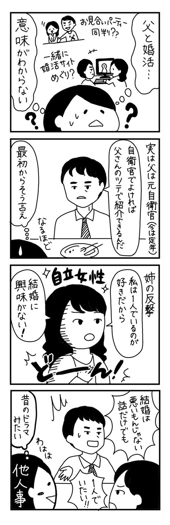 【4コマ漫画】第14回「ビクトリアな日々」作:ビクトリアブラディーヌ