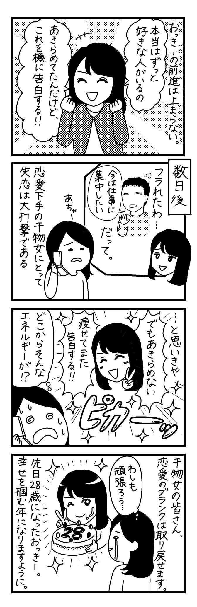 【4コマ漫画】第25回「ビクトリアな日々」作:ビクトリアブラディーヌ