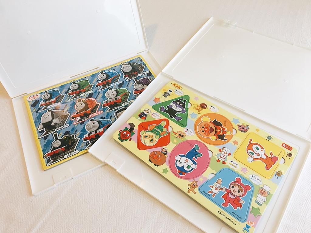 子供のパズルを収納するのに最適!