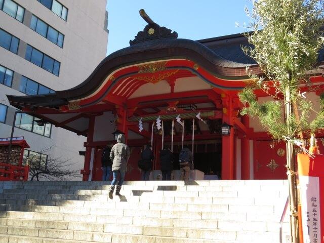 【新宿】花園神社