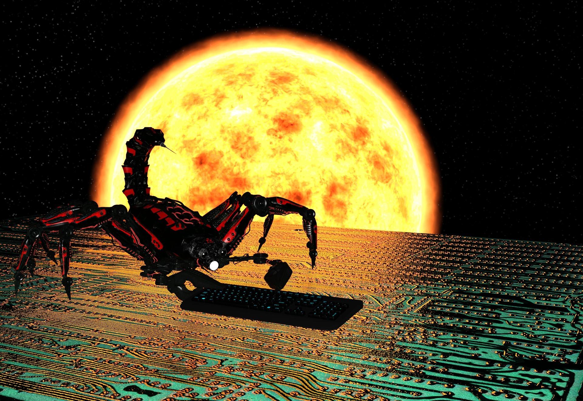火星と赤さを競う一等星