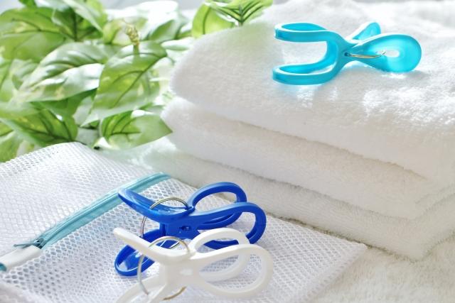 洗濯ネットの使い方③来客セットを保管する