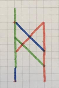 全ての文字を1つに合体させる-2