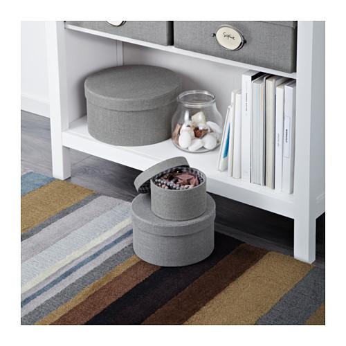 IKEA商品「ボックス3点セット」をダイソー商品でDIY