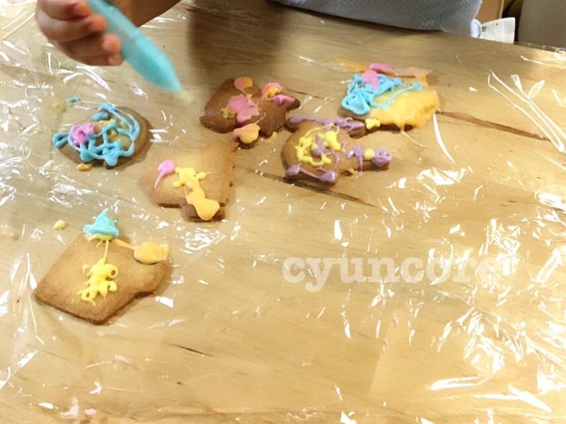 おやつには「お絵描きクッキー」を☆-2