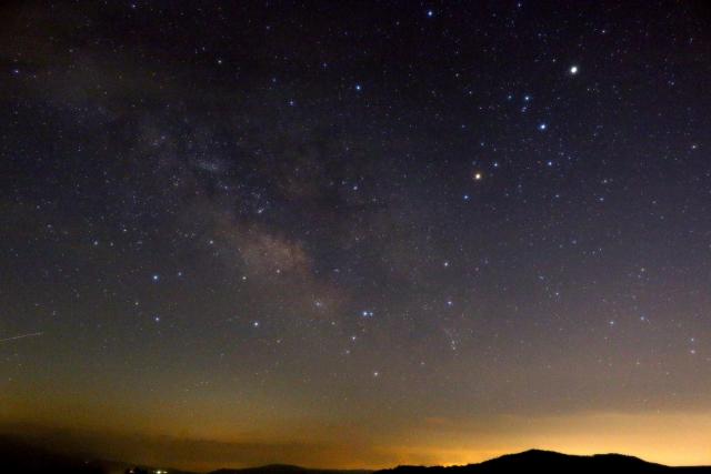 天の川の中にある星座