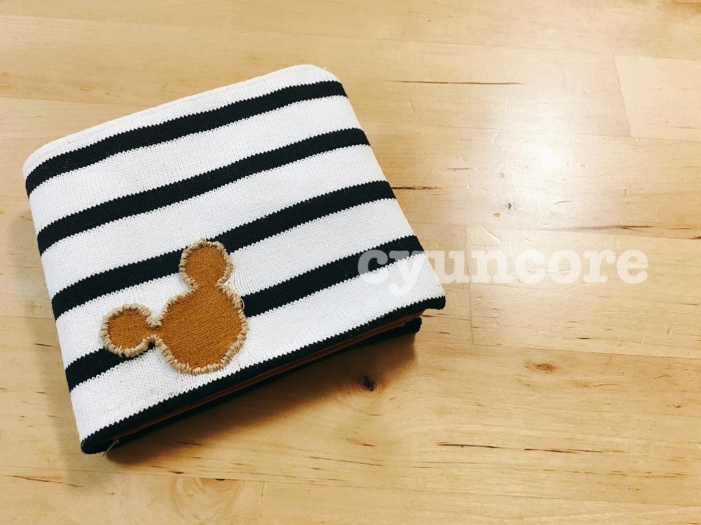 手順⑥財布を縫い付けたら完成!