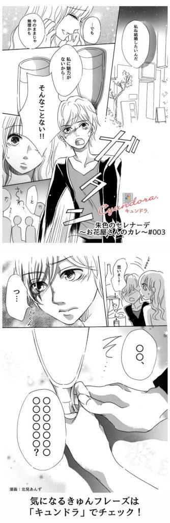 【妄想マンガ】朱色セレナーデ3~お花屋さんのカレ~