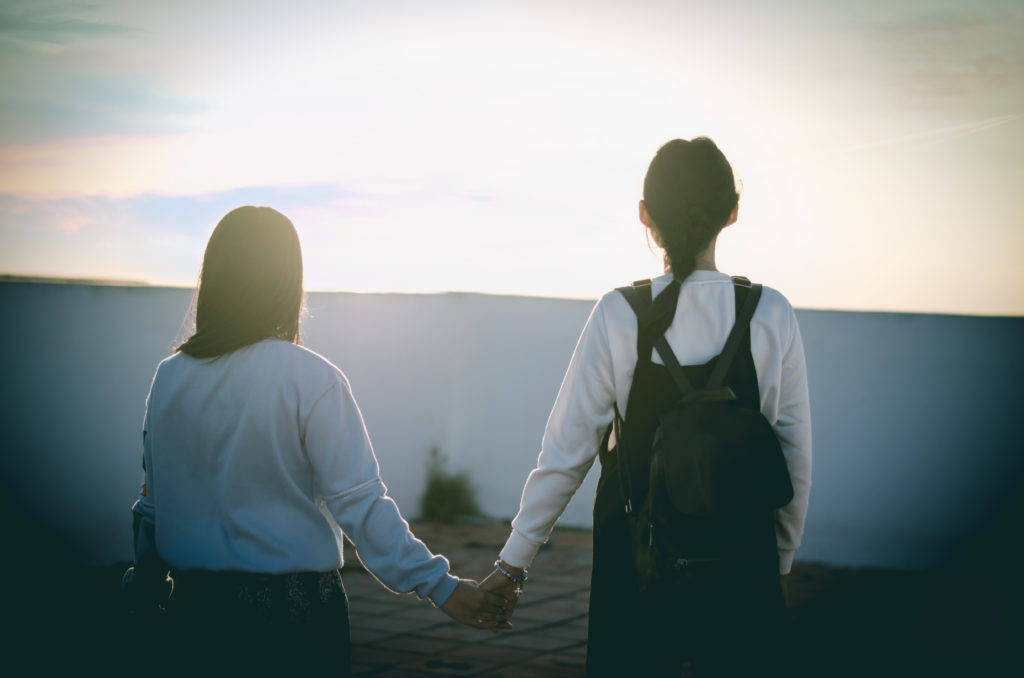 ■失恋した友達をどこかに連れて行く