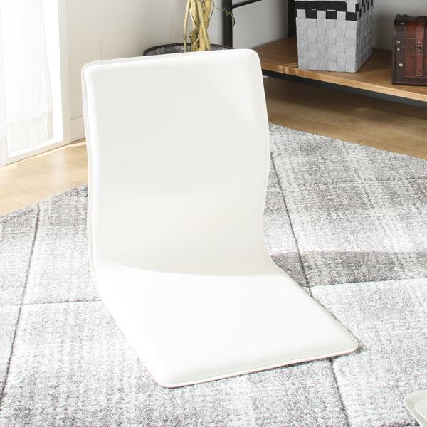 購入品①コンパクトモダン座椅子(リアムWH)