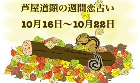10/23-10/29も公開済!【今週の恋愛運】10/16-10/22の恋愛運【芦屋道顕の音魂占い】