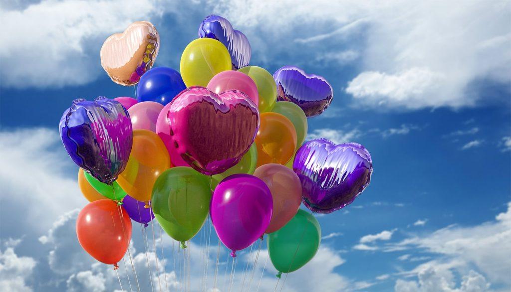 好きな色の風船を選ぼう