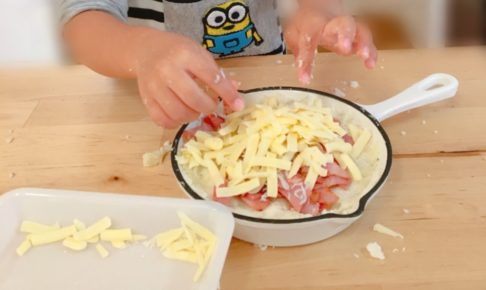 【2歳の子どもでも作れる!】ママの誕生日レシピ☆