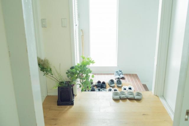 ☆玄関に靴が出しっぱなしになっている