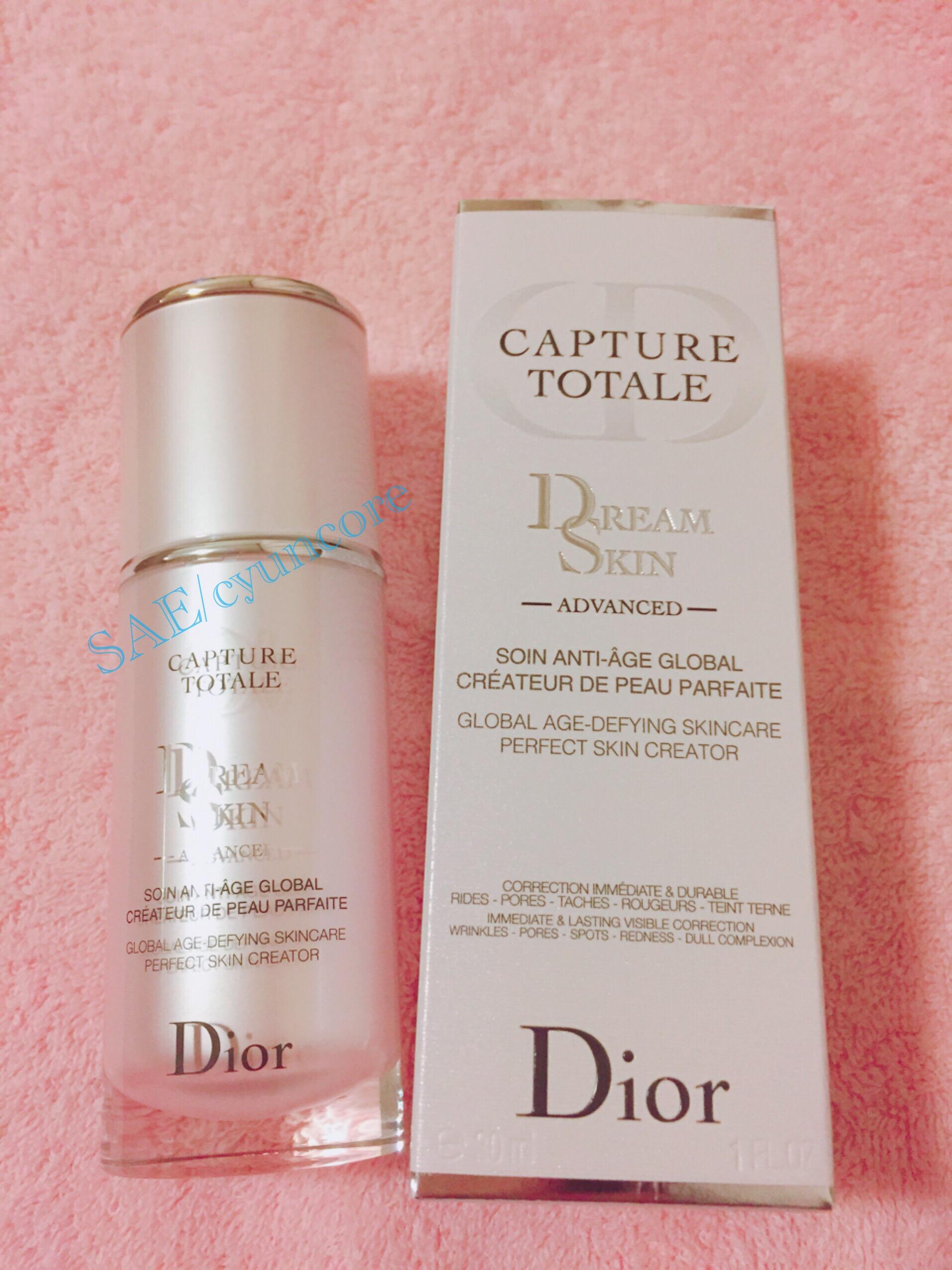 偽装じゃない!正真正銘『すっぴん美肌』を叶える『Dior カプチュール トータル ドリームスキン アドバンスト』