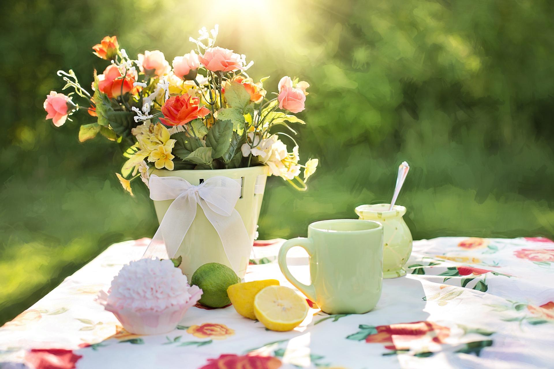 ☆花を飾る