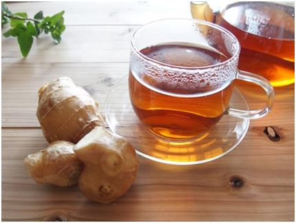 体を温める飲み物4. 生姜湯