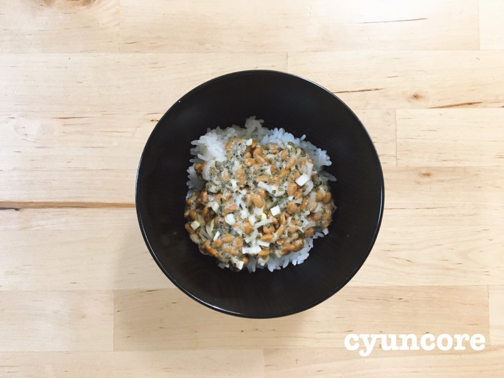 畑のキャビア「とんぶり」レシピ②朝食に食べたい!納豆×とんぶり