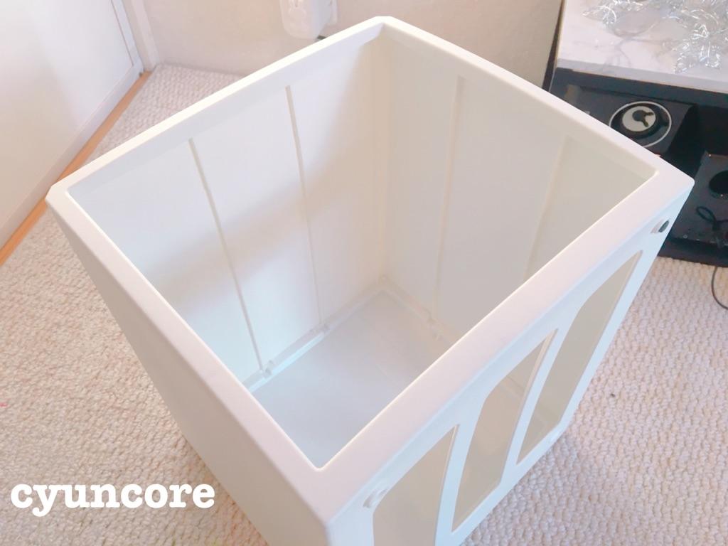 レターケースをスツール風収納ボックスにDIY②作り方-3