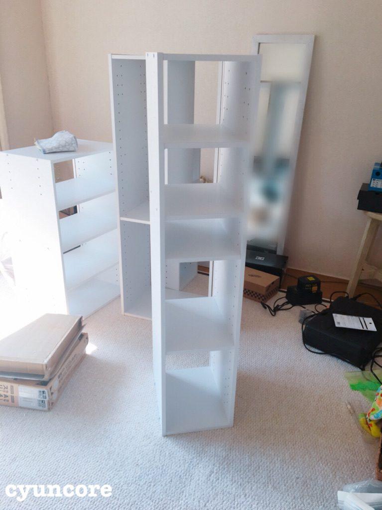 カラーボックスを組み立てる-3