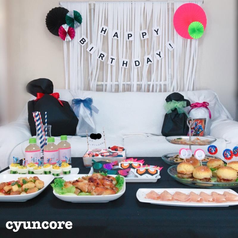 子供の誕生日の飾り付けは100均で!手作りの飾り付けアイデア6選(仮面ライダービルド&エグゼイド編)