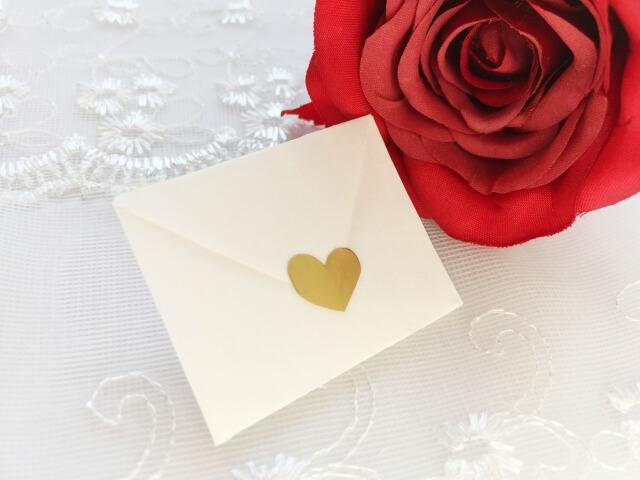 婚活パーティーの選び方④メッセージカードはある?