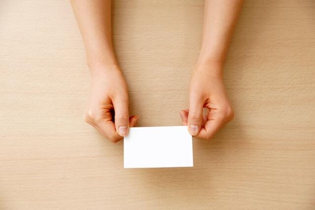 婚活パーティーの中間印象カードとは?