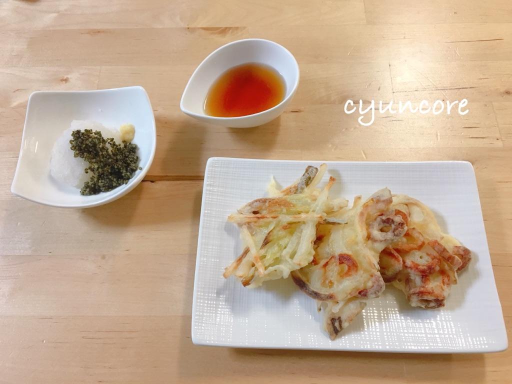 <畑のキャビア>栄養満点とんぶりレシピ⑤とんぶり衣のかき揚げ-3