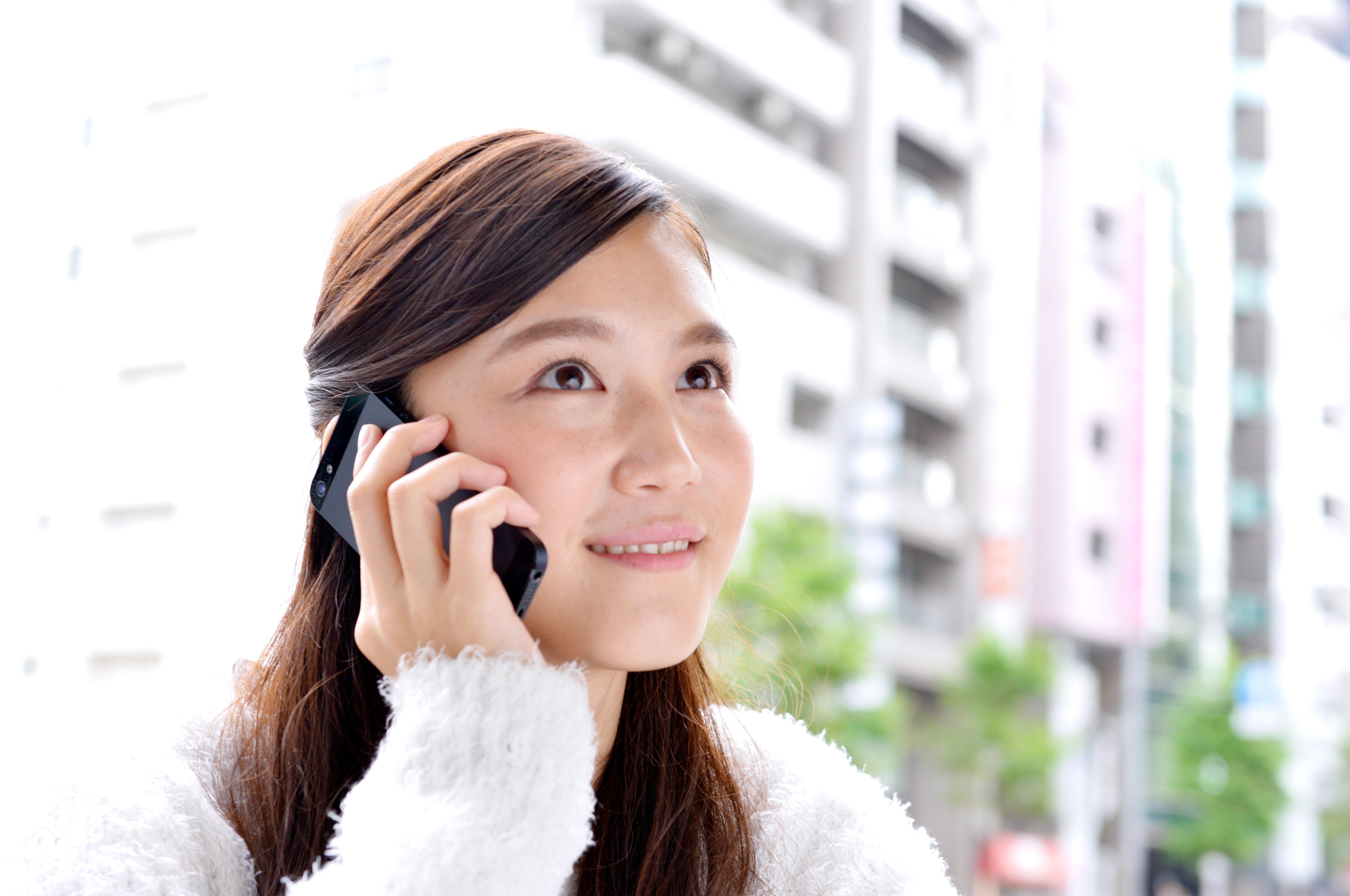 彼氏と電話する時の注意点3. 大きな悩みの話は電話でしない