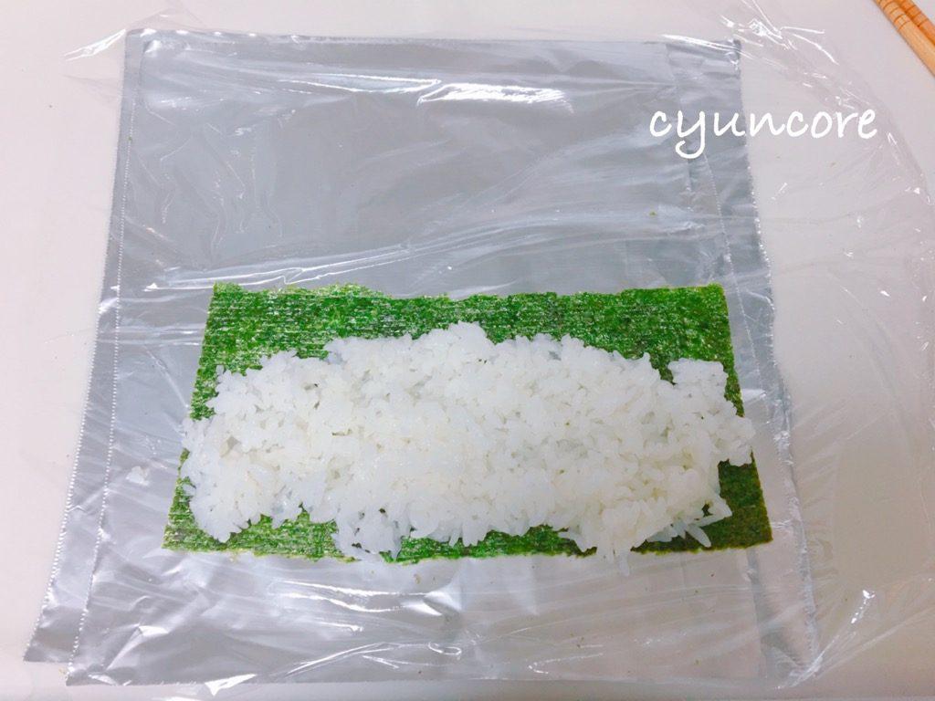 お寿司屋さんごっこ③崩れないシャリの作り方-2