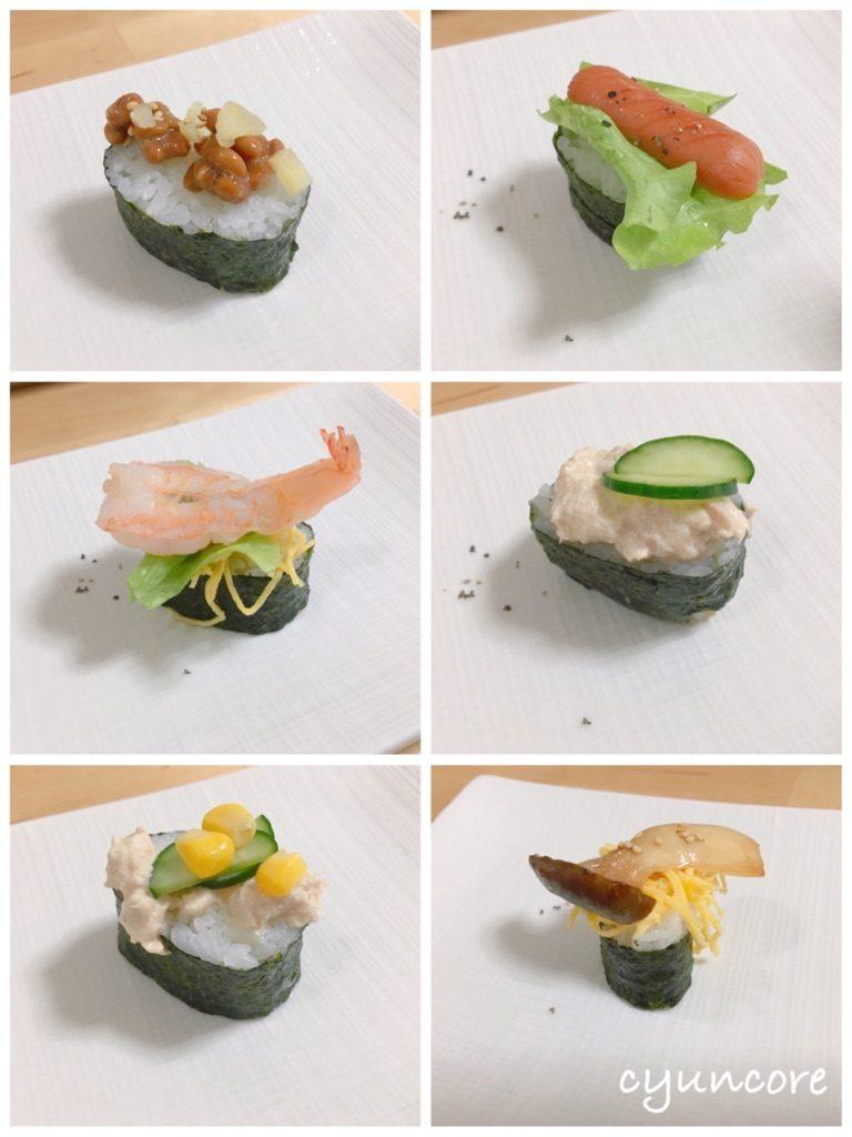 お寿司屋さんになりきろう!-2