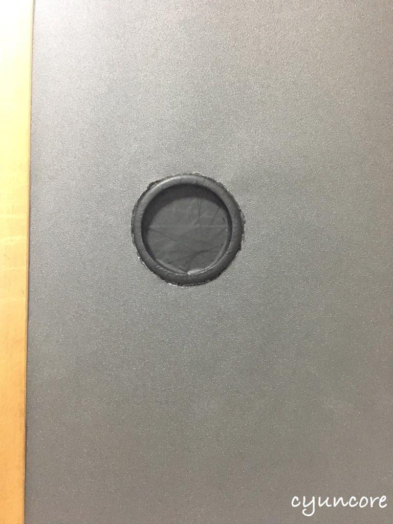 段ボールを使った戸襖アレンジ①戸襖に壁紙を貼る-3