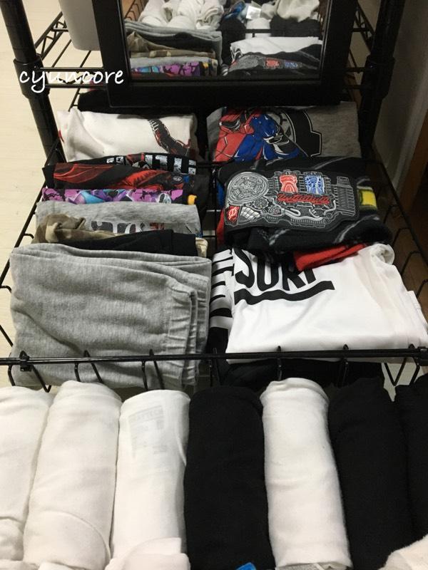 省スペースで居心地の良い部屋造り④衣類の収納は小さな隙間も見逃さない!-2