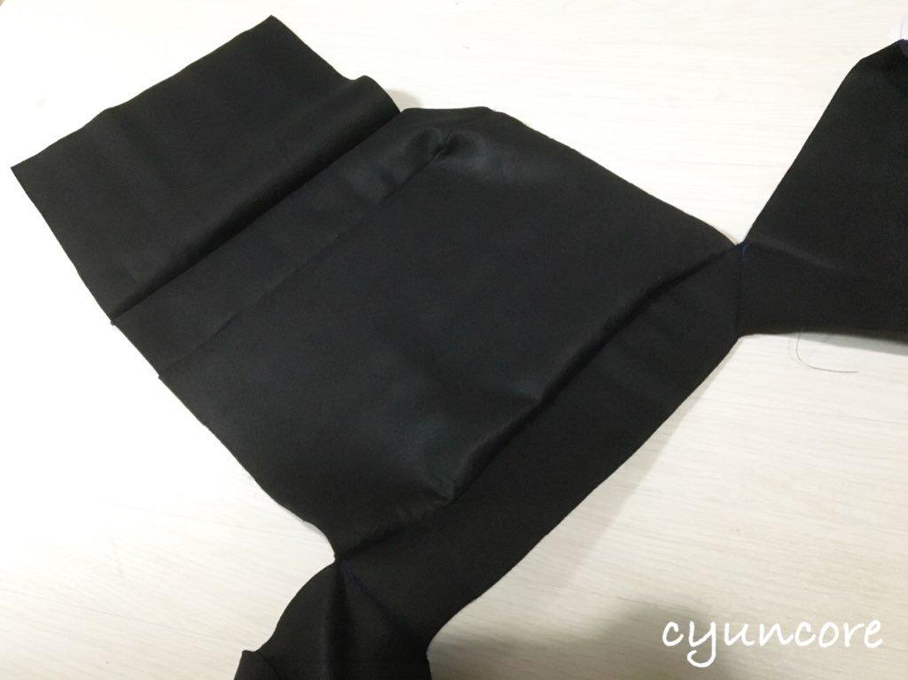 牛乳パックでボールプールDIY④ フェルトを縫い合わせる-3