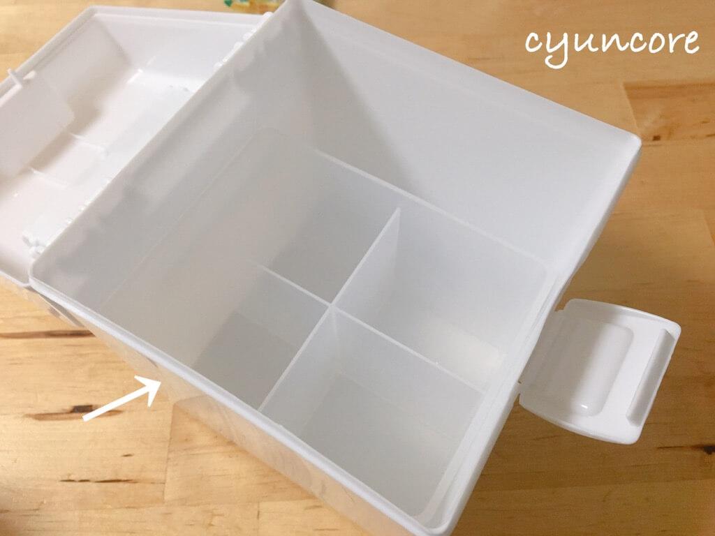 セリア購入品③プラスチックタバコケース(モノクロ)-2