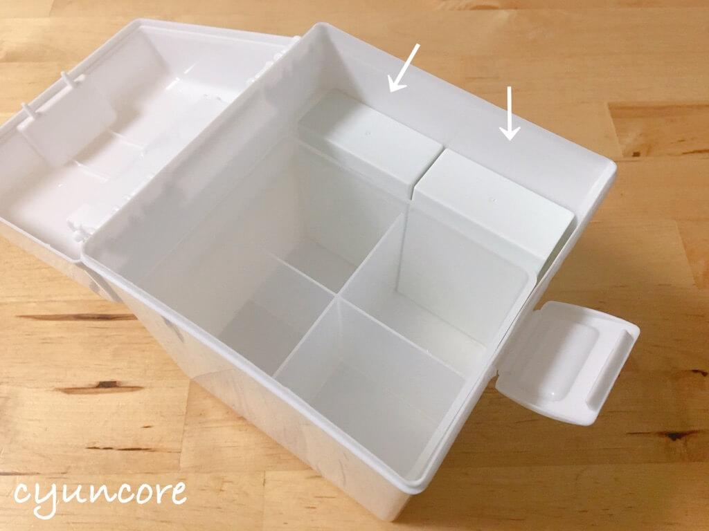セリア購入品③プラスチックタバコケース(モノクロ)-3