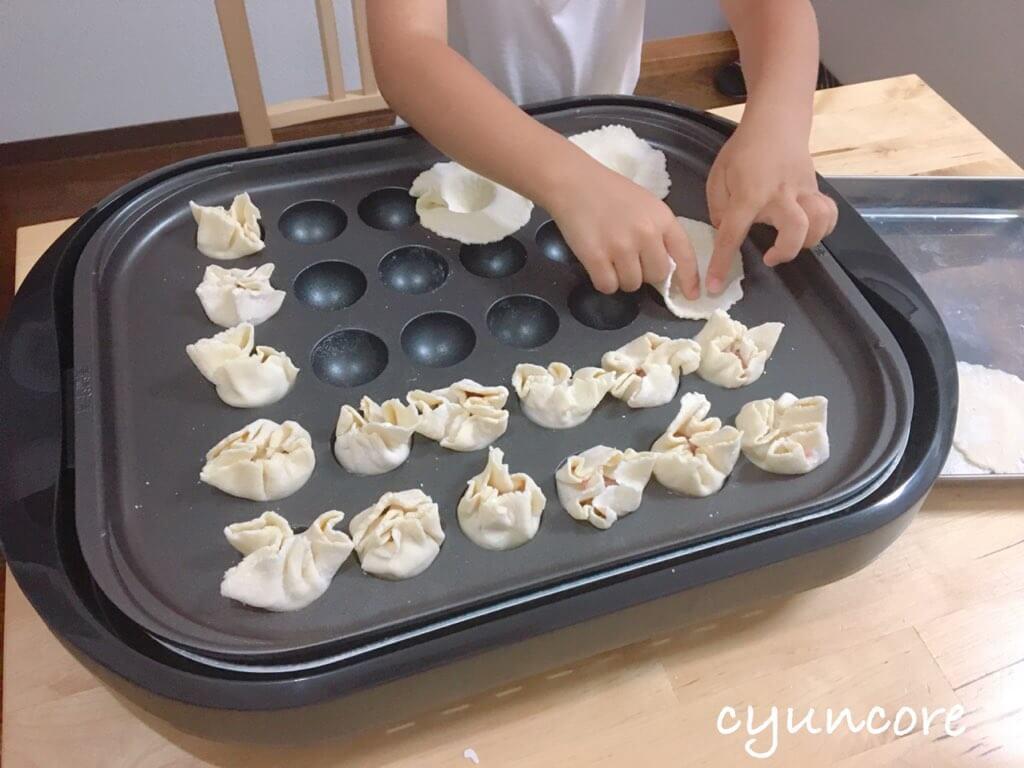 雨の日や暑い日のおうち遊びにも(3)ホットプレートで中華料理を作ろう!