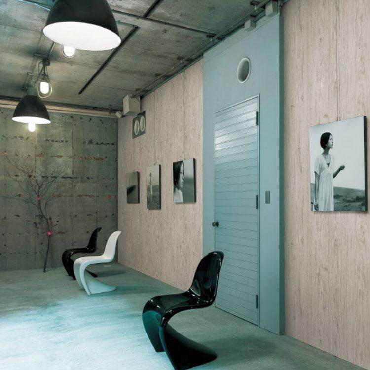 押入れの壁紙をカフェ風に貼りかえよう①押入れの天井の壁紙を貼り替える-2