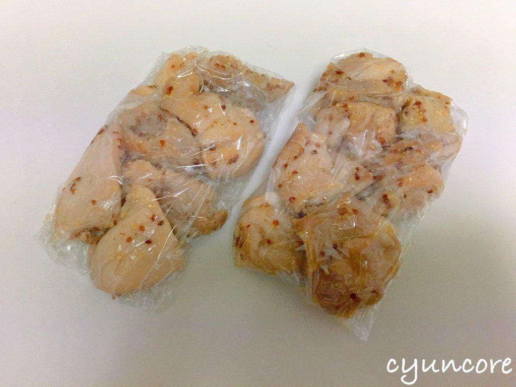 単身赴任におすすめの冷凍おかず⑩鶏もも肉のハニーマスタード焼き