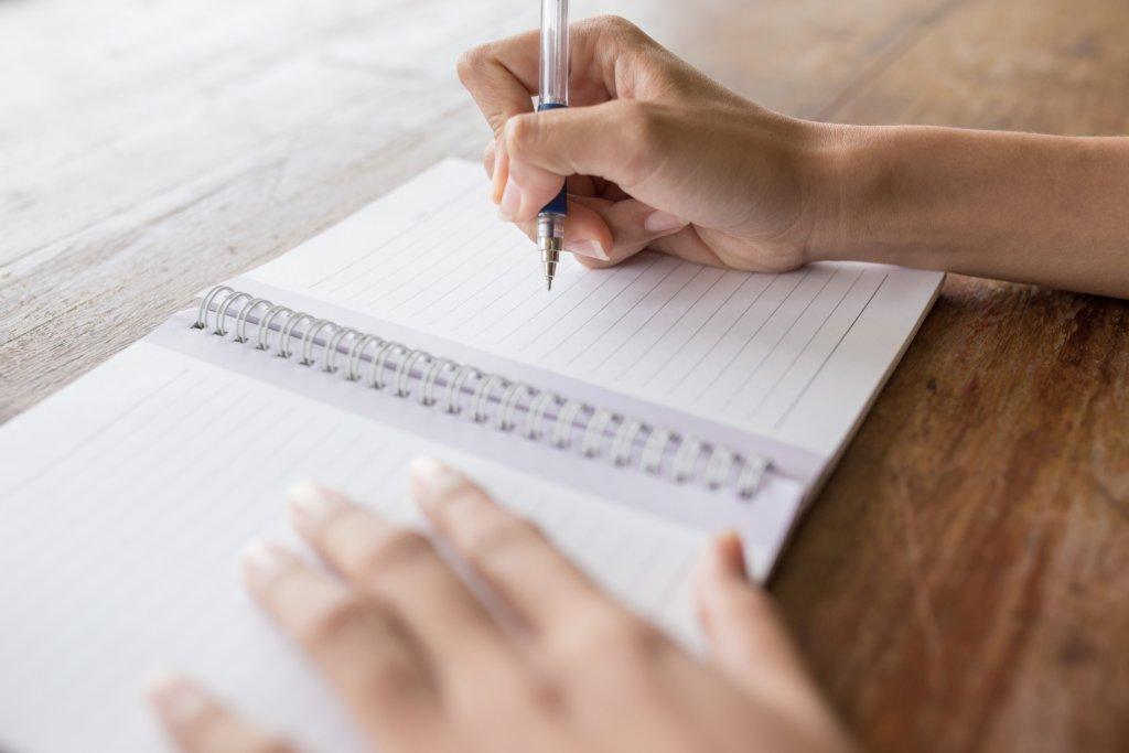 嫌なことノートの書き方