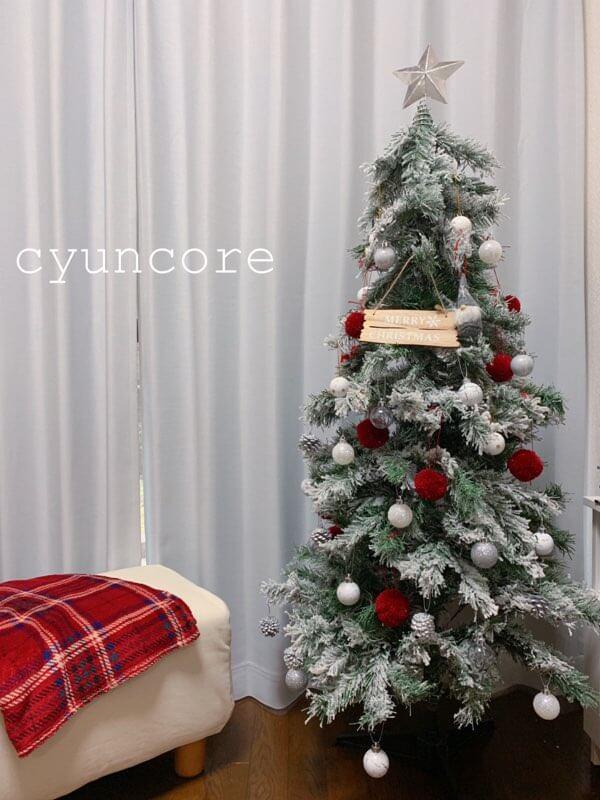 クリスマスツリーの装飾が完成しました☆