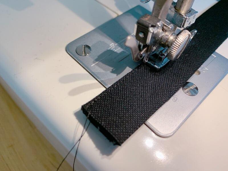通園バッグの作り方⑤持ち手を作る-2