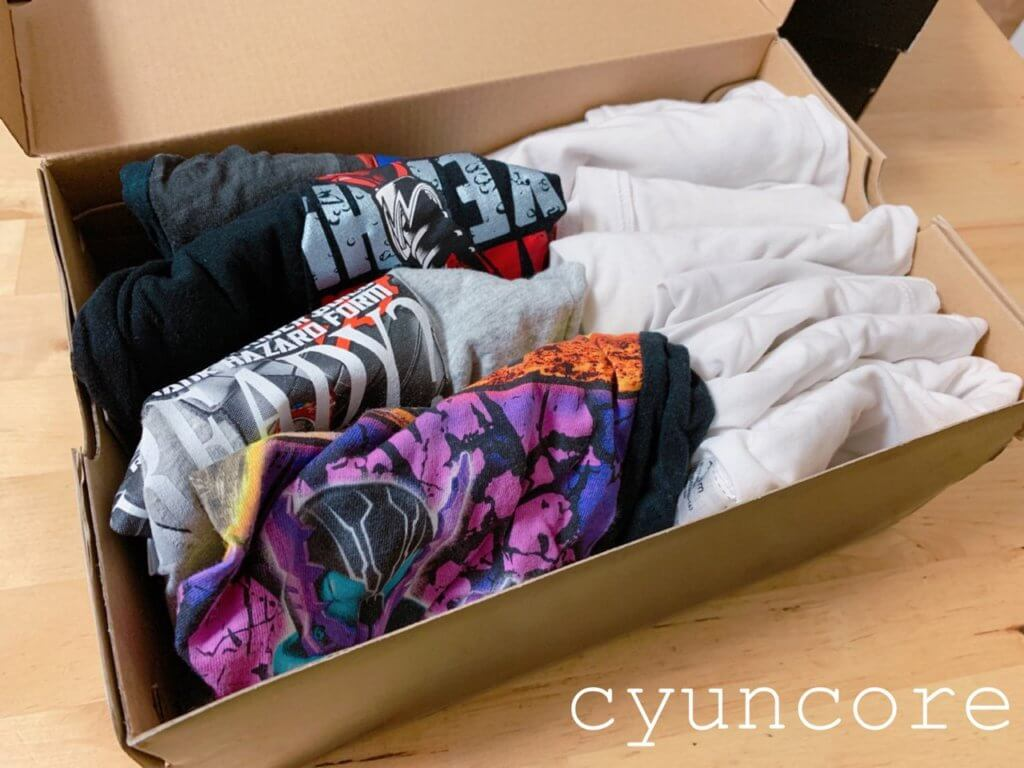 靴の空き箱の収納アイデア③シーズンオフのファッションを収納