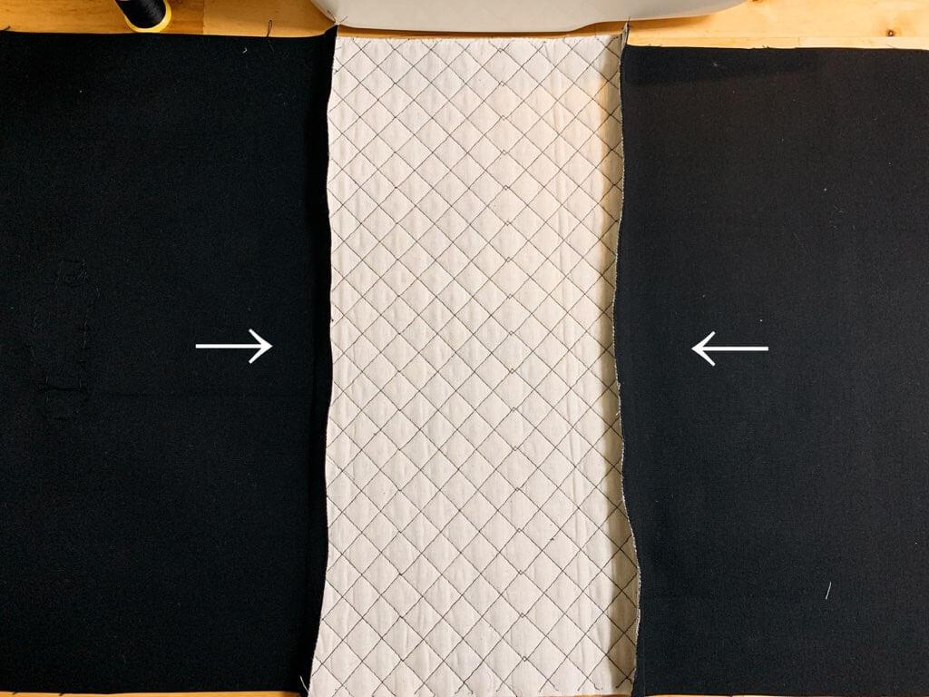 通園バッグの作り方③表地を作る-3