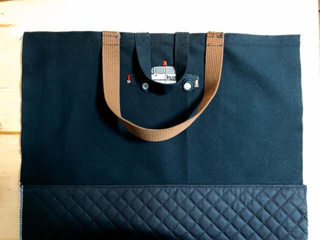 通園バッグの作り方⑤持ち手を作る-4