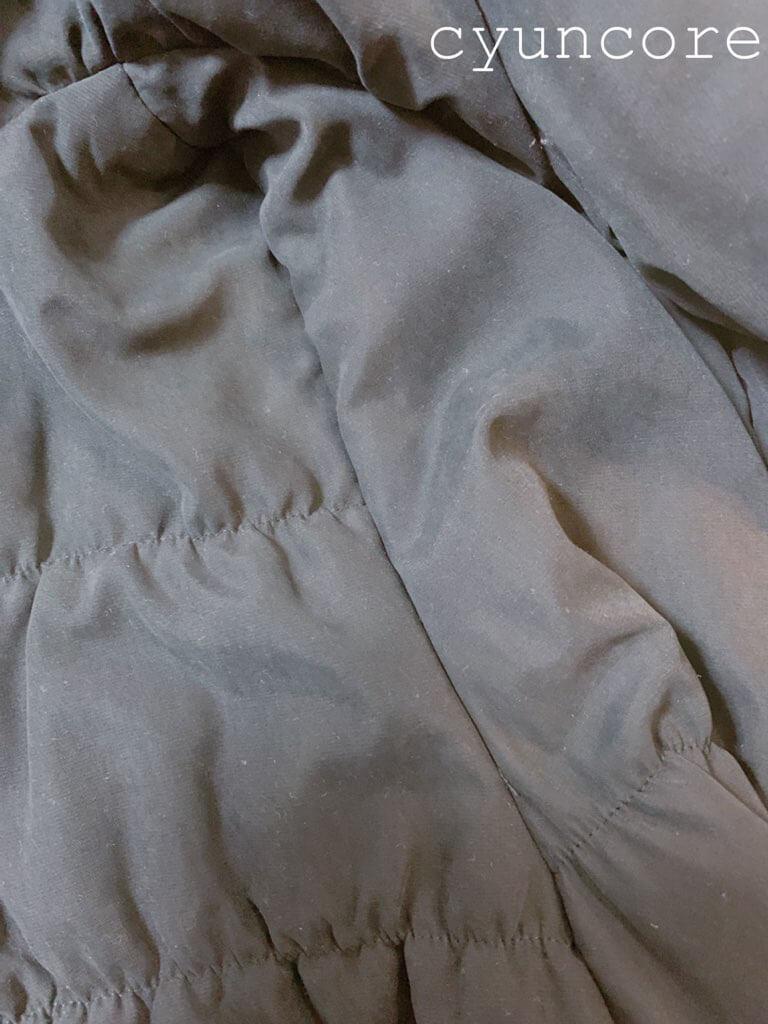 自転車用防寒カバーの作り方②アームホールを縫い合わせる-3