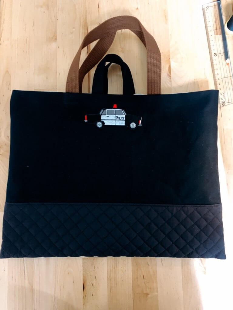 通園バッグの作り方⑥表地と裏地を縫い合わせる-5